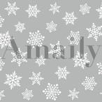 No.3-15 雪の結晶 白