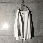 [used] spring white Haori
