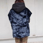 【sandglass】custom foodie(pattern B black fur ) / 【サンドグラス】カスタムフーディ(パターンB ブラックファー)