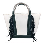 SideFringeToteBag[M]GREEN 1120
