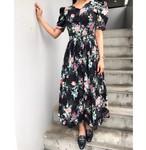 70's vintage flower dress