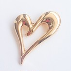 """Monet"" heart brooch[b-129]"
