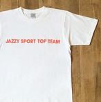 """【ラスト1】JS """"TOP TEAM"""" Tシャツ/ホワイト"""