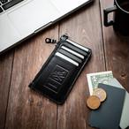 本革スリムカードウォレット コンパクト財布 Slim Card Wallet Excella Zip 【単品】