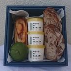 パンと自家製ジェラートの箱(中)