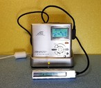 MDポータブルレコーダー SHARP MD-DR7-S 1BitMD MDLP対応 完動品