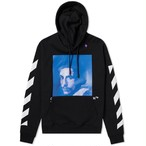 Off-White™ / DIAG BERNINI OVER HOODIE / BK BLUE
