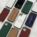 新色6色☆シンプルカラーベーシック♪オーダーメイド名入れ♪iPhone各種対応♪カラフルニュアンスカラー オリジナルスマホケース iPhoneケース 文字入れ対応 iPhone12