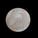 高野竹工 木皿 欅(けやき) 24cm