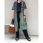 【RehersalL】 aloha gown (mint 29)/【リハーズオール】アロハガウン(ミント 29)