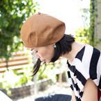 デニムベレー帽/カラー