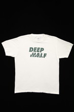 DEEP HALF T Shirt (White)