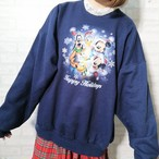 ○ 90s USA vintage Disney character print sweat ○