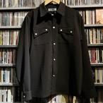 L / S ウェスタンシャツ ブラック