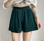 vintage velours short pants.