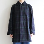 STAMMBAUM【 womens 】balmacaan coat (black watch)