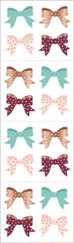 Rose Gold Bows