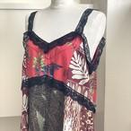【RehersalL】aloha×lace dress /【リハーズオール】アロハ レースドレス