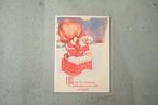 アメリカビンテージのクリスマスメッセージカード