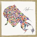 絵画 インテリア アートパネル 雑貨 壁掛け 置物 イグアナ 動物 現代アート ロココロ 画家 : nob 作品 :  igu