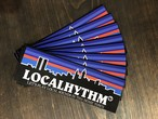 """LOCALHYTHM """"LET'S PLAY LOCALSOUNDS""""ステッカー ローカリズム"""