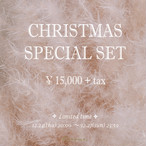 X'mas Special Set ¥15,000+tax