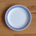 アダムス ブレントウッド コバルトブルー クローバー柄 デザートプレート ケーキ皿 16cm #200218-1~5 Adams Brentwood ヴィンテージ イギリス製 食器 陶器