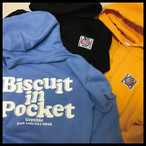 BISCUIT IN POCKET Hoodie【Water/Yellow/Black】