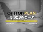 お問い合わせ:オプションプラン 3,000円コース