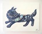 「宝石怪盗オオカミ」キャンバスアート