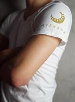【限定モデル】半袖/ホワイト/左肩ゴールド | MIRAXMA-ミライイマ-