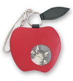 ちびりんご小銭入れ わちふぃーるど 猫のダヤン