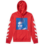 Off-White™ DIAG BERNINI OVER HOODIE / RED BLUE