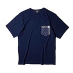 "ANRAVELED by UNRIVALED ""POCKET TEE"" DARK INDIGO"