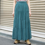 """Made in USA"" Bemberg Rayon Skirt"