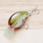 "BRISKY LURES  /  "" Oliver "" / #02. Copper Green Shad"