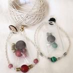 【お得なセット】天然石の細身ブレスレットが作れる材料セット(ネコポス発送可能)