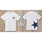 STAR logo T-shirt/white
