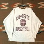 90's チャンピオン リバースウィーブ スウェット ビンテージ カレッジプリント Champion REVERSE WEAVE SWEAT 刺繍タグ(グレー,L) NBA レイカーズ バスケット