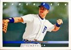 MLBカード 93UPPERDECK Rico Brogna #386 TIGERS