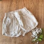 cottonlinen short pants