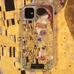 ARTiFY iPhone 11 グリッターケース クリムト キス ゴールド AJ00511