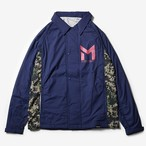 MMA Warm Run Coaches Jacket (Navy)