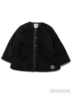 【SILLENT FROM ME】GEMINAL -Reversible Boa Jacket-BLACK