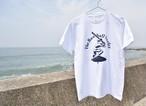 The Baseball Surfer Tシャツ【ホワイト】
