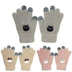 【猫3兄弟】スマホ手袋【23042】