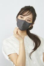 ぷるピッタマスク-Sサイズ  デニムコン、デニムクロ 2枚セット #103