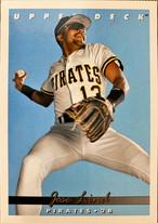 MLBカード 93UPPERDECK Jose Lind #309 PIRATES