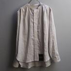 ASEEDONCLOUD アシードンクラウド HW ハンドベーカー collarless shirts linen off white