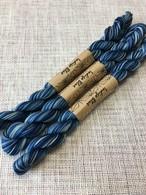 藍染 刺し子糸 グラデーション